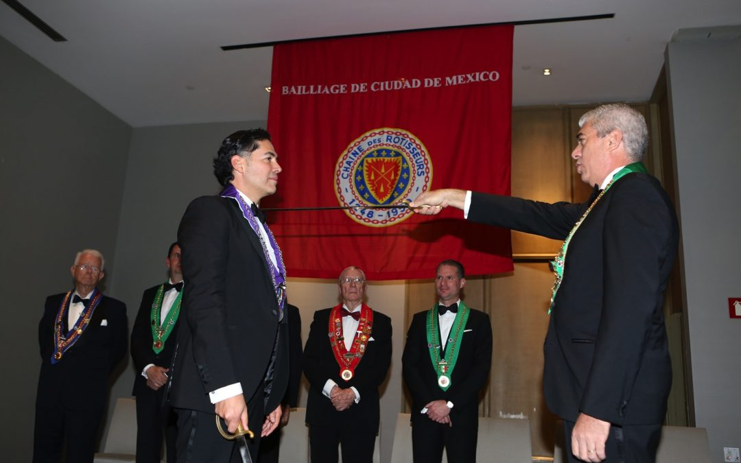 Ceremonia de Entronización, Ciudad de México